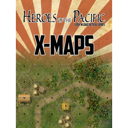 Lock 'n Load Tactical: Heroes of the Pacific - X-Maps