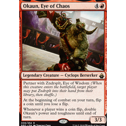 Magic löskort: Battlebond: Okaun, Eye of Chaos