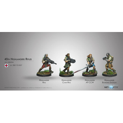 Ariadna - 45th Highlander Rifles (Box of 4)