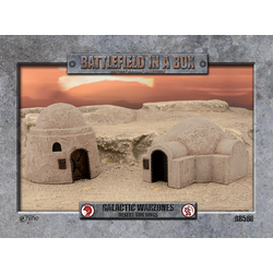 Battlefield in a Box: Galactic Warzones Desert Buildings