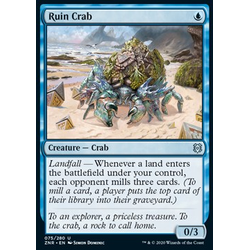Magic löskort: Zendikar Rising: Ruin Crab