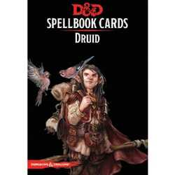 D&D 5.0: Spellbook Cards - Druid (2018 Ed.)