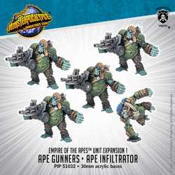 Empire of the Apes: Ape Gunners & Ape Infiltrator