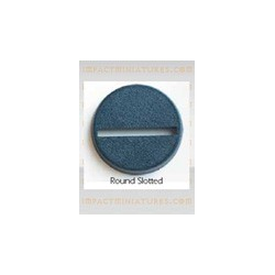 Fantasy Football Accessories - Round Bases 25mm (25) (Impact)
