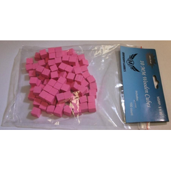 Mayday 10mm Wooden Cube Tokens Pink (100st)