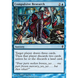 Magic löskort: Conspiracy: Compulsive Research