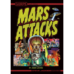 GURPS 4th ed: Mars Attacks