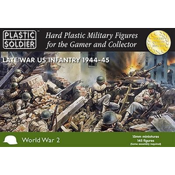 15mm WWII (American): Late War US Infantry 1944-45 (145)