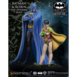 Batman Miniature Game: Batman and Robin (The Dynamic Duo)