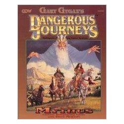 Gary Gygax's Dangerous Journeys - Mythus
