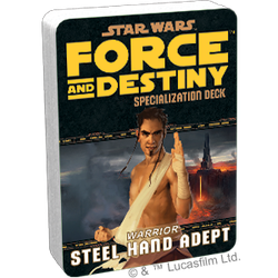 Star Wars: Force and Destiny: Specialization Deck Steel Hand Adept