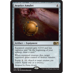 Magic löskort: M15: Avarice Amulet