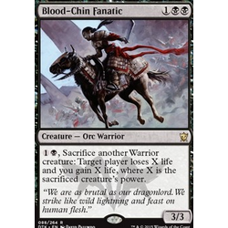 Magic löskort: Dragons of Tarkir: Blood-Chin Fanatic (foil)