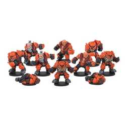 DreadBall: Rotatek Rockslides Brokkr Team