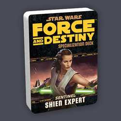 Star Wars: Force and Destiny: Specialization Deck Sentinel Shien Expert