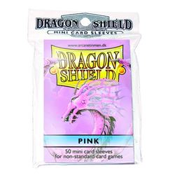 Dragon Shield Sleeves - Mini Pink (50 ct. in bag)