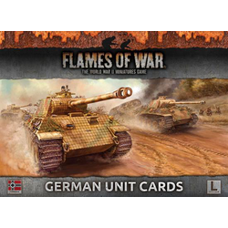 Flames of War: Armies Of Late War: German Unit Cards