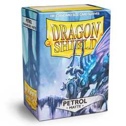 Dragon Shield Sleeves - Standard Matte Petrol (100 ct. in box)
