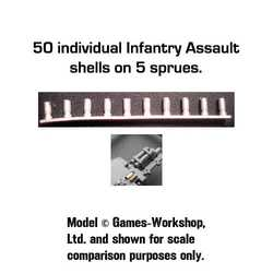 Secret Weapon: Spent Shell Casings - Infantry Assault (50)