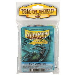 Dragon Shield Sleeves - Standard Turquoise (50 ct. in bag)