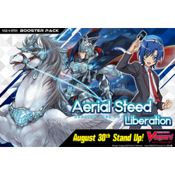Cardfight!! Vanguard: Aerial Steed Liberation Display (16 booster packs)