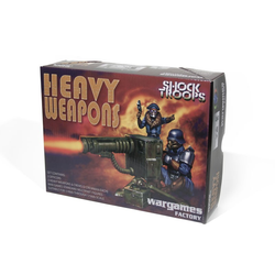 Shock Troopers Heavy Weapons (8-figures - 3 Weapons)