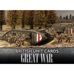 Great War: British Unit Cards