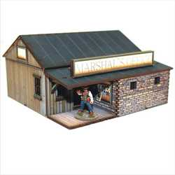 28mm Dead Mans Hand Feature Building: Marshalls Office