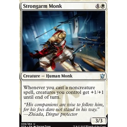 Magic löskort: Dragons of Tarkir: Strongarm Monk (Foil)