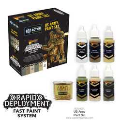 Bolt Action: US Army Paint Set