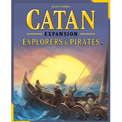 Settlers of catan (5th ed): Explorers & Pirates expansion (eng. regler)