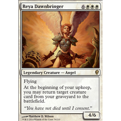 Magic löskort: Conspiracy: Reya Dawnbringer