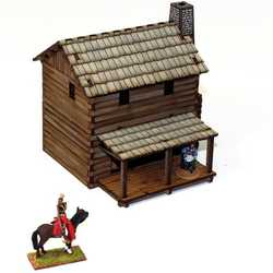 28mm New England Loft Cabin (Painted)