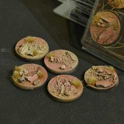 Battle Ready Bases - Badlands 40mm Round (5)