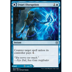 Magic löskort: Zendikar Rising: Jwari Disruption // Jwari Ruins