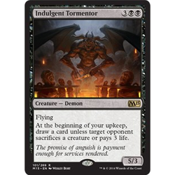 Magic löskort: M15: Indulgent Tormentor