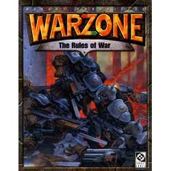 Warzone (Target Games): The Rules of War 2nd ed
