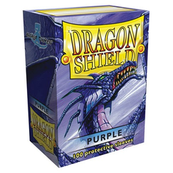 Dragon Shield Sleeves - Standard Purple (100 ct. in box)
