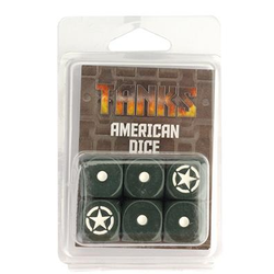 TANKS: US Dice Set (6)