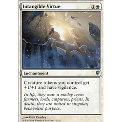 Magic löskort: Conspiracy: Intangible Virtue