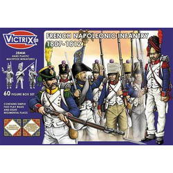 Victrix 28mm: Napoleonic French Infantry 1807-1812