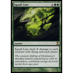 Magic löskort: Time Spiral: Squall Line