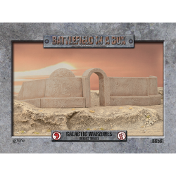 Battlefield in a Box: Galactic Warzones Desert Walls