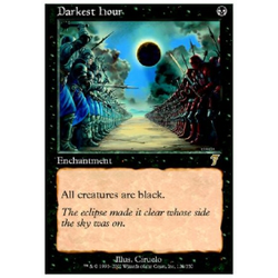 Magic löskort: 7th Edition: Darkest Hour