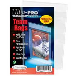 Ultra Pro Soft Sleeves Teambags (100)