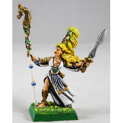 Sylvan/Wood Elf: Sorceress (Metall, Konverterad)