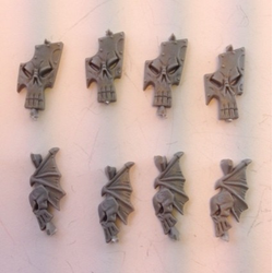 Dark Elf Shield Fronts (begagnade)