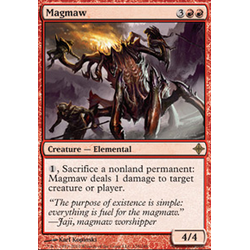 Magic löskort: Rise of the Eldrazi: Magmaw