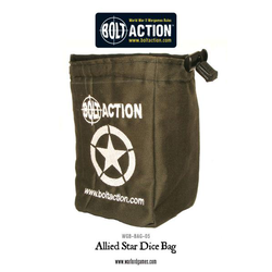 Bolt Action: Allied Star Dice Bag