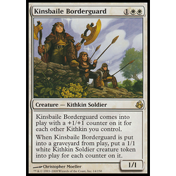 Magic löskort: Morningtide: Kinsbaile Borderguard